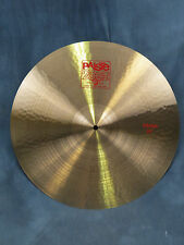 "Paiste 2002 Series 20'' & 22"" Classic Crash Cymbals - Excellent Used Condition"