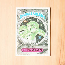 Vintage Garbage Pail Kids 1986 UK Sticker Collector's Card Alien Alan 238b