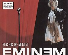 Eminem Sing For The Moment CD Single Rare Rabbit Run D12 The Eminem Show 8 Mile