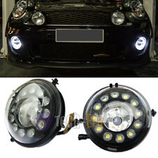Exact Fit MINI Cooper 12-CREE LED Daytime Running Lights Fog Lamps Assembly Kit