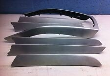 GENUINE B8 AUDI A4 A5 INTERIOR STEEL BRUSHED TRIM SET  - 8K0867420 S LINE