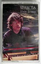 CASSETTE DE 1995, ALAIN LEMAY, NUANCES, MUSIQUE ORIGINALES POUR PIANO SOLO
