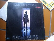 "LP 12"" LEE CLAYTON NAKED CHILD GERMANY 1979 VG+"