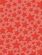 Craft Concept Embossing Folder Cuttlebug Sizzix Big-Shot Machines - Starry Night