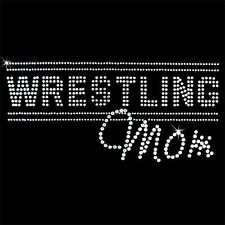 Rhinestone Transfer - Hot Fix Motif -  Wrestling Mom 3