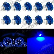 10x Blue 8mm 12V 2 SMD LED T3 Neo Wedge A/C Climate Bulb For 2010 Honda Civic