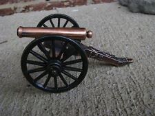 Civil War Napoleon Cannon Bronze Barrel Artillery Toy Soldier Union Diorama