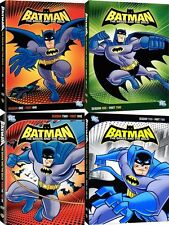 Batman . The Brave And The Bold . Complete Season 1 & 2 . Part 1+2 . 8 DVD . NEU