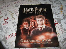 Harry Potter and the Order Of The Phoenix Colouring Book with press out Cards.