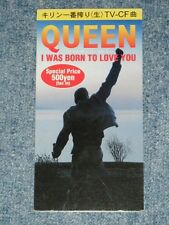 """QUEEN Japan Only 1996 Ex Tall 3"""" CD Single I WAS BORN TO LOVE YOU"""