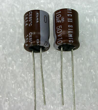 5x   ELNA RFS SILMIC II 10uF 50V,  GENUINE Audio-Grade Capacitor. USA Seller
