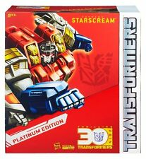 TRANSFORMERS STARSCREAM anno del cavallo PLATINUM trentesimo anniversario Edition