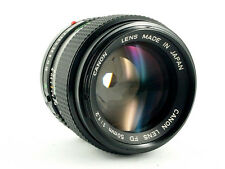 Canon lens FD lente 50mm 1:1 .2 Canon FD Lichtriese impecable