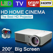 RD801 mini Full HD LED Projector For Home Cinema Theater 2000 Lumens 200 inch