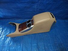 06-08 MERCEDES R500 R320 R350 W251 COMPLETE TAN CENTER CONSOLE ARM REST CUP HOLD