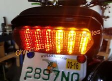 Honda Grom MSX125 Integrated Taillight - Brake and Turn Signals - Clear Lens