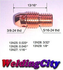 "WeldingCity 10-pk Collet Body 13N27 (1/16"") for TIG Welding Torch 9/20/25"