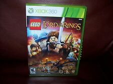 LEGO Lord of the Rings for Xbox 360 with bonus movie LOTR fellowship
