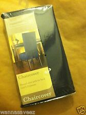 HomeTrends Dining Room Chair Cover - Dark Blue