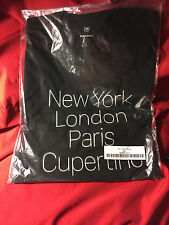 (1) NEW SEALED! AUTH APPLE INC LOGO STORE SZ M CUPERTINO NLPC FIRST WAVE T SHIRT