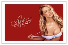 JENNA JAMESON HOT ADULT MOVIE STAR SIGNED PHOTO PRINT AUTOGRAPH