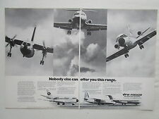 4/1975 PUB VFW FOKKER AIRCRAFT HOLLAND FOKKER F27 FRIENDSHIP VFW 614 F28 AD