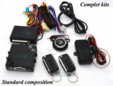 Alarm Car Remote Start Stop By Flip Key Remote RFID Arm Or Disarm Engine Start