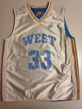 JERSEY MAILLOT BASKET NIKE WEST N°33 REVERSIBLE