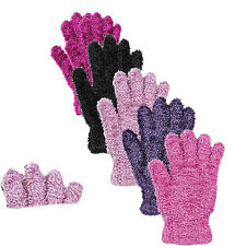 3X LADIES WOMENS FEATHER TOUCH GIRLS FLUFFY COSY MAGIC FASHION WARM GLOVES