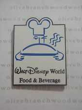 WDW 2001 Walt Disney World FOOD & BEVERAGE DIVISION Chef w/ Mickey Hat Cast Pin