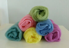 Set of 6 Newborn Cheesecloth Hand Dyed