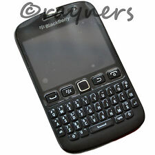 "(grado B) Blackberry 9720 Handset SIM GRATIS Nero | BBM da 5 MP 2.8 ""QWERTY os7"