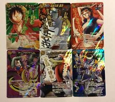 One Piece Miracle Battle Carddass Omega Set OP09 6/6