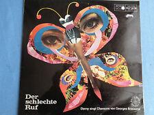 Danny Marino singt George Brassens Metronome LP - Der schlechte Ruf