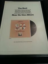The Best Of Peter, Paul, and Mary Rare Original Promo Poster Ad Framed!