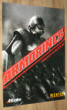 Armorines : Project S.W.A.R.M. / South Park Rally very rare Poster 58x81cm