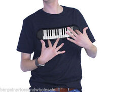 Novelty Gadgets Piano Sound T-Shirt Medium Size M Amazing Fun