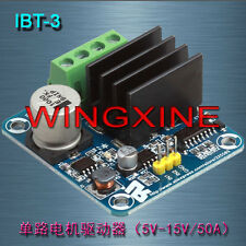NEW IBT-3 50A H-bridge High-power Motor Driver module/smart car