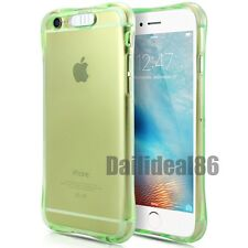 Shockproof LED Incoming Call Blink Transparent TPU Case Cover For iPhone&Samsung