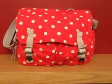 BNWT Cath Kidson spot cotton saddle bag