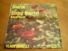DVORAK - STRING QUARTET IN E FLAT MAJOR = SUPRAPHON SUA 10463 BLUE LABEL
