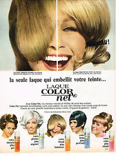 PUBLICITE ADVERTISING 084  1966  COLOR-NET   laque