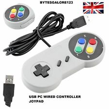 SNES style Controller USB Joypad Joystick Gaming Gamepad For PC Windows