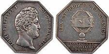 Louis Philippe Ier, Compagnie des Notaires de Paris, argent, lampe - 38