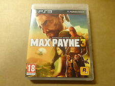 PS3 GAME / MAX PAYNE 3 (ROCKSTAR GAMES) (PLAYSTATION)