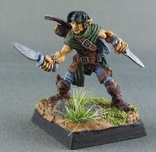 Half Elf Rogue Reaper Miniature Dark Heaven Legends Assassin Thief Fighter Melee