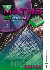 Key Maths GCSE - ICT Resource CD-ROM Higher, Sherran, Peter, New Condition