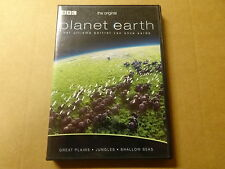 DVD / PLANET EARTH - GREAT PLAINS - JUNGLES - SHALLOW SEAS ( BBC )