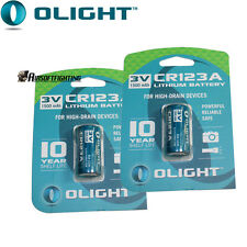 Olight 2*CR123A 3V 1500mAh PTC NON-Rechargeable primary Battery for Camera Torch