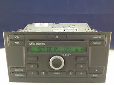 FORD MONDEO MK3 RADIO 6000 CD PLAYER STEREO SECURITY CODE 2004 2005 2006 2007